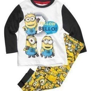 Minions Pyjama Tummansininen Kuvioitu