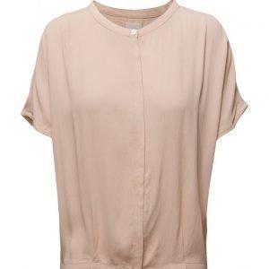 Minus Harriet Shirt Solid lyhythihainen pusero