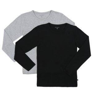 Minymo pitkähihainen T-paita 2 kpl