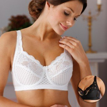 Miss Mary Underwired Bra Soft Lace B-D