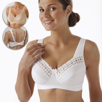 Miss Mary Wonderful Soft Cup Bra F-H