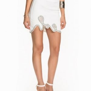 Miss Selfridge Embellished Swirl Skirt