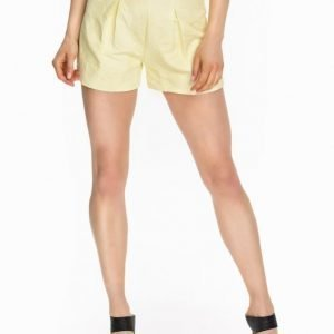 Miss Selfridge Lemon Jacquard Shorts
