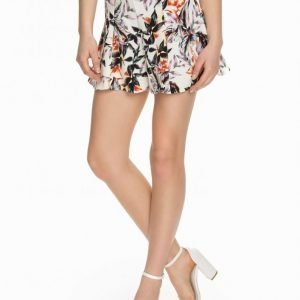 Miss Selfridge Palm Crepe Minihame Multi