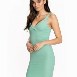 Miss Selfridge Plunge Rib Bodycon Dress