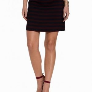 Miss Selfridge Stripe Boucle Mini Skirt Minihame Multi
