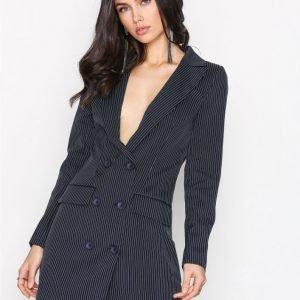 Missguided Blazer Dress Kotelomekko Navy