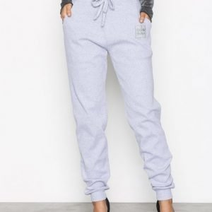 Missguided Cuff Hem Ribbed Joggers Housut Grey