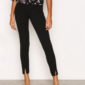 Missguided Skinny Fit Cigarette Trousers Housut Black