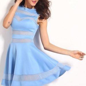 Missy vaaleansininen mekko