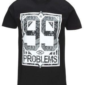 Mister Tee 'Problems Marble' T-paita