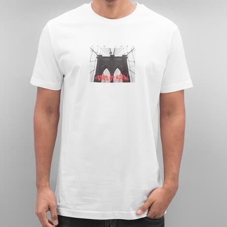 Mister Tee T-paita Valkoinen