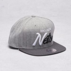 Mitchell & Ness Brooklyn Nets Snapback Grey