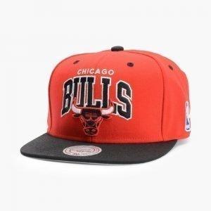 Mitchell & Ness Bulls Team Arch Snapback