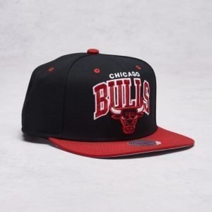Mitchell & Ness Chicago Bulls Snapback Black/Red