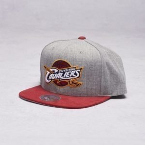 Mitchell & Ness Cleveland Cavaliers Snapback Grey/Burgundy