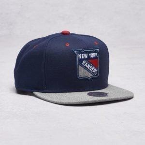 Mitchell & Ness NY Rangers Snapback Navy/Grey