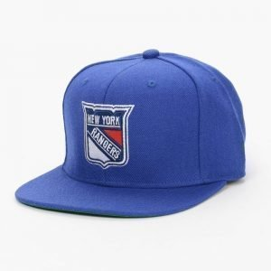 Mitchell & Ness Rangers Wool Solid Snapback