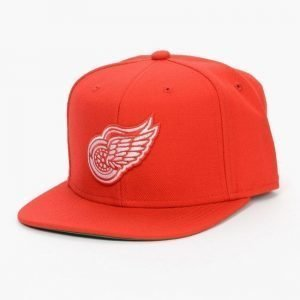 Mitchell & Ness Redwings Wool Solid Snapback