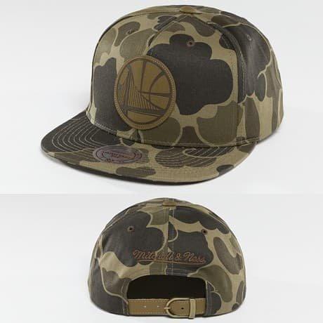Mitchell & Ness Snapback Lippis Camouflage