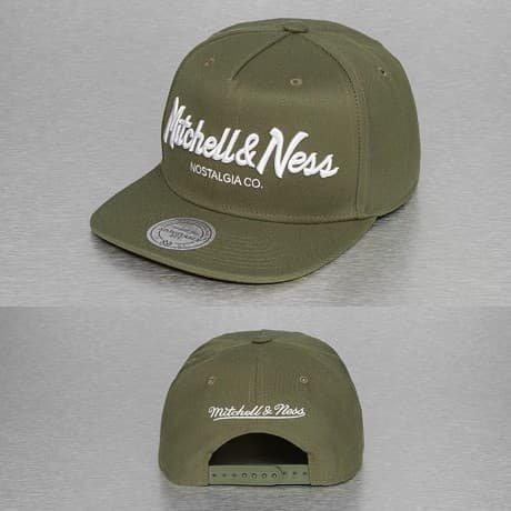 Mitchell & Ness Snapback Lippis Oliivi