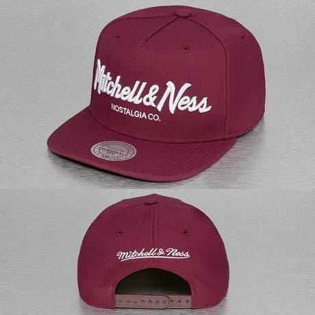 Mitchell & Ness Snapback Lippis Punainen