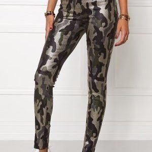 Mixed from Italy Glitter Camo Jeggings Army Camo