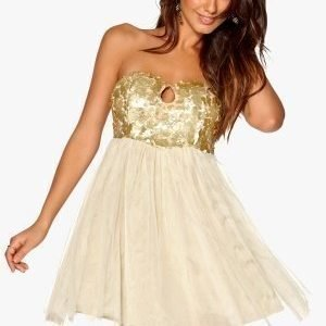Model Behaviour Anna Dress Gold / Yellow