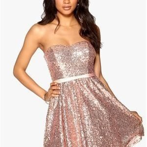 Model Behaviour Ellen Dress Rose gold