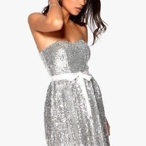 Model Behaviour Ellen Dress Silver