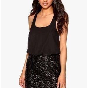 Model Behaviour Evelina Dress Black