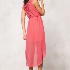 Model Behaviour Felicia Dress Coral