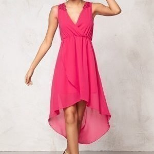 Model Behaviour Felicia Dress Dark pink