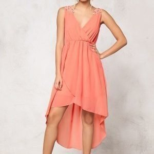 Model Behaviour Felicia Dress Peach