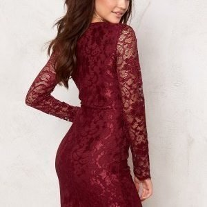 Model Behaviour Märta Dress Wine-red
