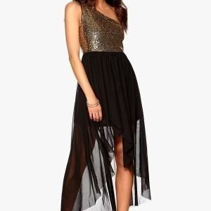 Model Behaviour Maria Maxi Dress Gold / Black