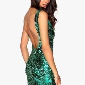 Model Behaviour Rebecka Dress Emerald green
