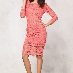 Model Behaviour Tuva Dress Coral