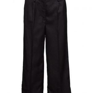 Modström Graves Black leveälahkeiset housut
