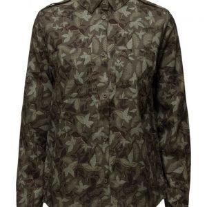 Modström Silver Print Shirt pitkähihainen paita