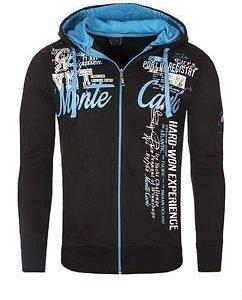 Monte Carlo VO2 Hoodie Black/Blue