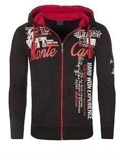 Monte Carlo VO2 Hoodie Black/Red