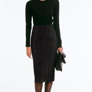 More Than Basic The Plissé Tube Skirt Hame