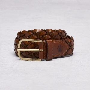 Morris 47021 Belt 0162 Cognac