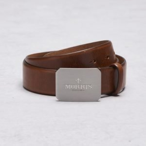 Morris 47030 Belt 0046 Mid Brown