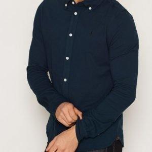 Morris Blake Piqué Shirt Kauluspaita Blue