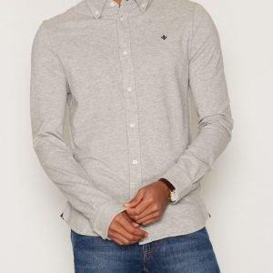 Morris Blake Piqué Shirt Kauluspaita Grey