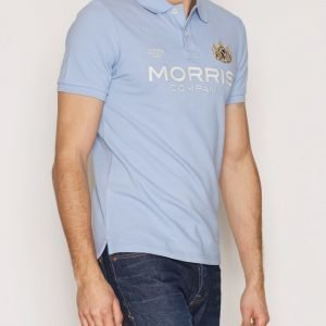 Morris Brit Piqué Pikeepaita Light Blue