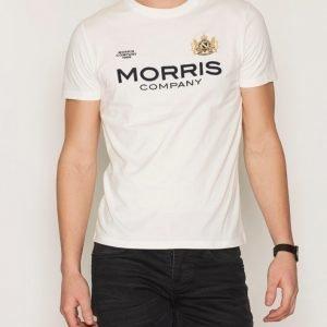 Morris Brit Tee T-paita Offwhite