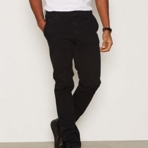 Morris Dapper Structure Slacks Housut Black